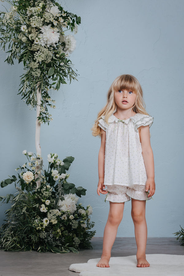 Vintage-inspired children's pyjama set Amelia