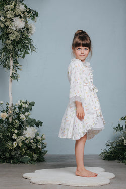 Exclusive kids' dressing gown Sofia