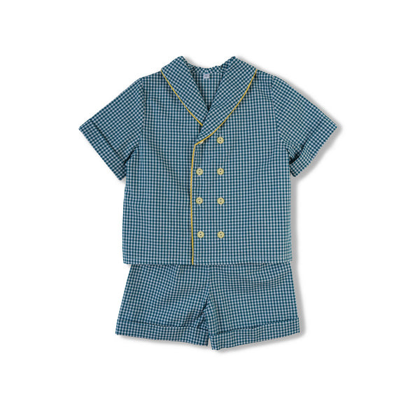 Classic boys' cotton pyjama set Samuel - children's designer nightwear