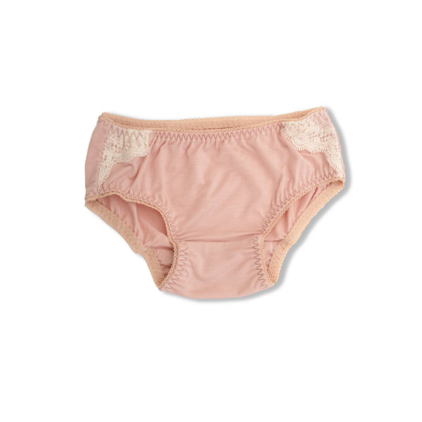 LEA GIRLS' BRIEFS PINK