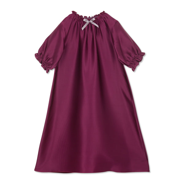 ANTONIA SILK NIGHTGOWN CHERRY