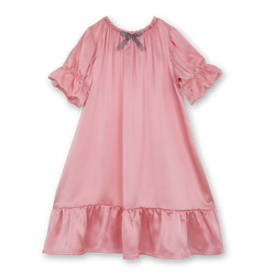 Girls' silk nightdress Daria - vintage inspired silk nightgown for girls