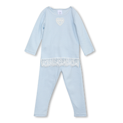 DIANA GIRLS' PYJAMA SET IN BLUE