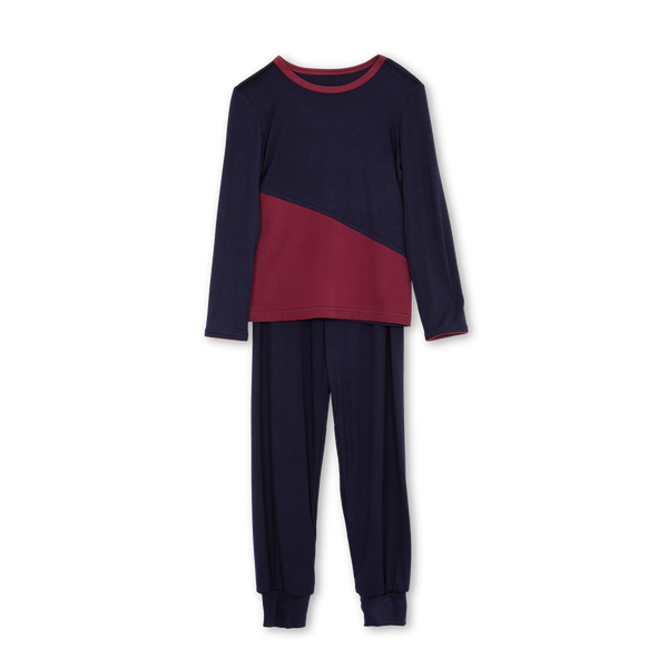 FRED BOYS' PYJAMA SET IN NAVY
