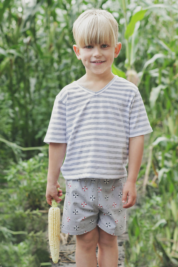 Boys nighties - two-piece sleepwear set for boys