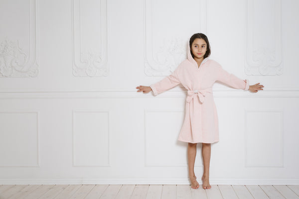 beautiful girls' robe - soft robes for kids