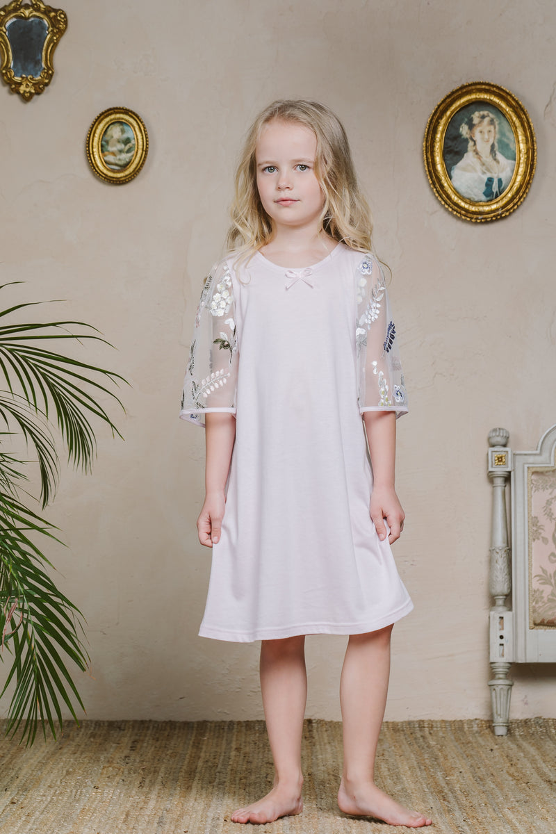 LISETTE KIDS' NIGHTDRESS LAVENDER