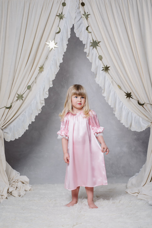 LORETTA GIRLS' NIGHTDRESS IN LOLLIPOP
