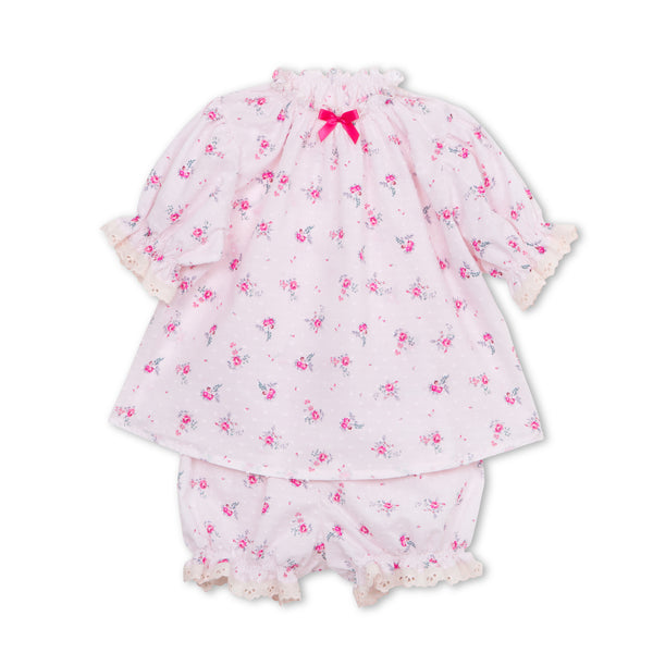 NATHALIE GIRLS' PAJAMA SET PINK