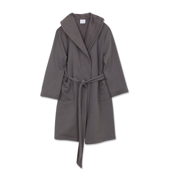 NATHAN DARK GREY BOYS ROBE