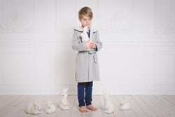 Kids' robe OLIVER - hooded robe for children
