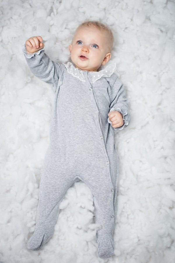 Baby Romper Carol - Babay pjs - soft and skin-friendly cotton sleepsuit - newborn clothes