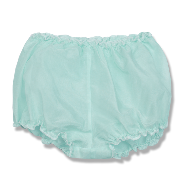 VALERIE NIGHTDRESS WITH BLOOMERS IN MINTY BLUE IN SIZE 0-2