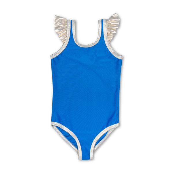 VICKY CHILDREN'S SWIMSUIT ROYAL BLUE