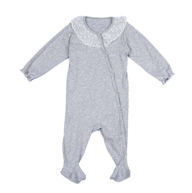 Romper Carol - soft and skin-friendly cotton sleepsuit - newborn sleepwear