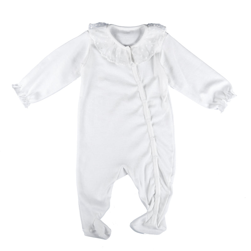 Romper Carol - soft and skin-friendly cotton sleepsuit - newborn clothes