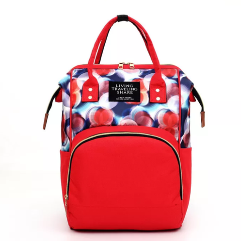 SAC A LANGER MAMA BAG MIXTE ROUGE 2