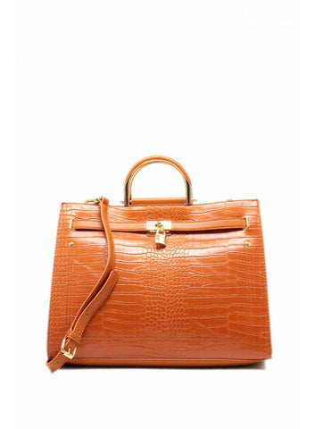 sac-a-main-couleur-marron-croco