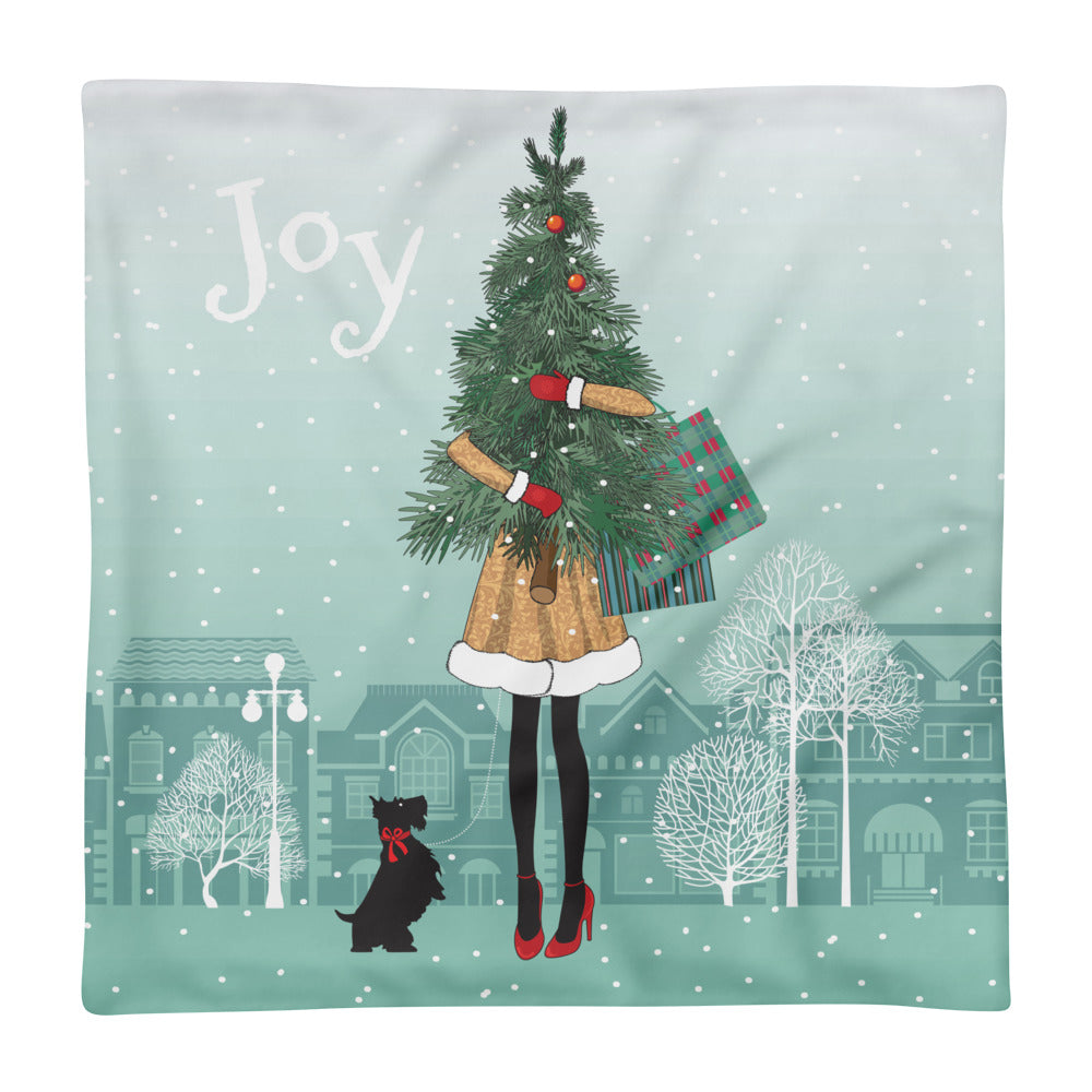Joyful Feet Basic Pillow Case - Joy Holiday Fashion