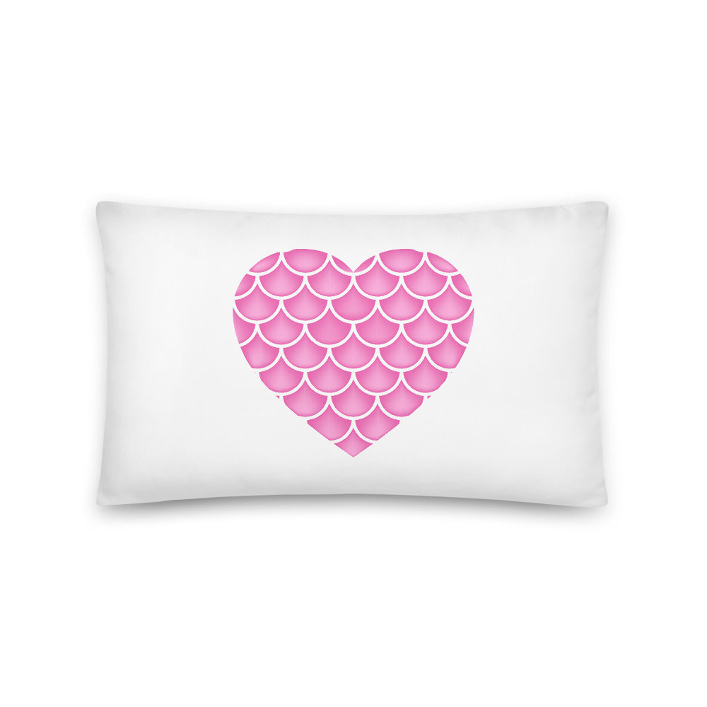 Mermaid Love Basic Pillow