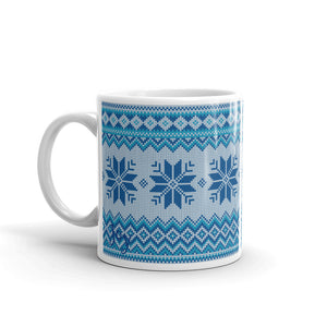 Snowflake Sweater Mug - Joy Holiday Fashion