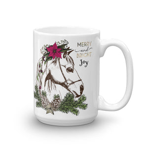 Horsey Holiday Mug