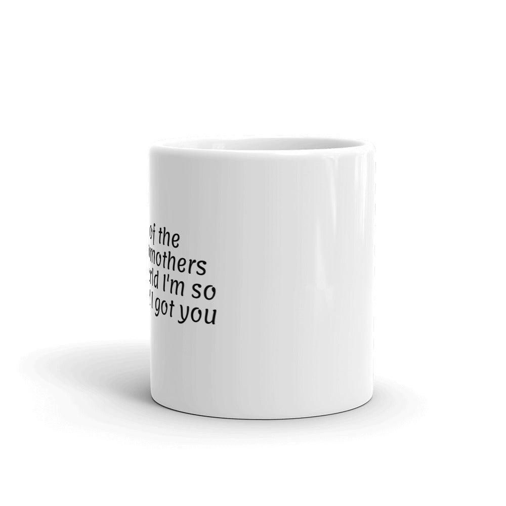 Evil Stepmother's White Glossy Mug