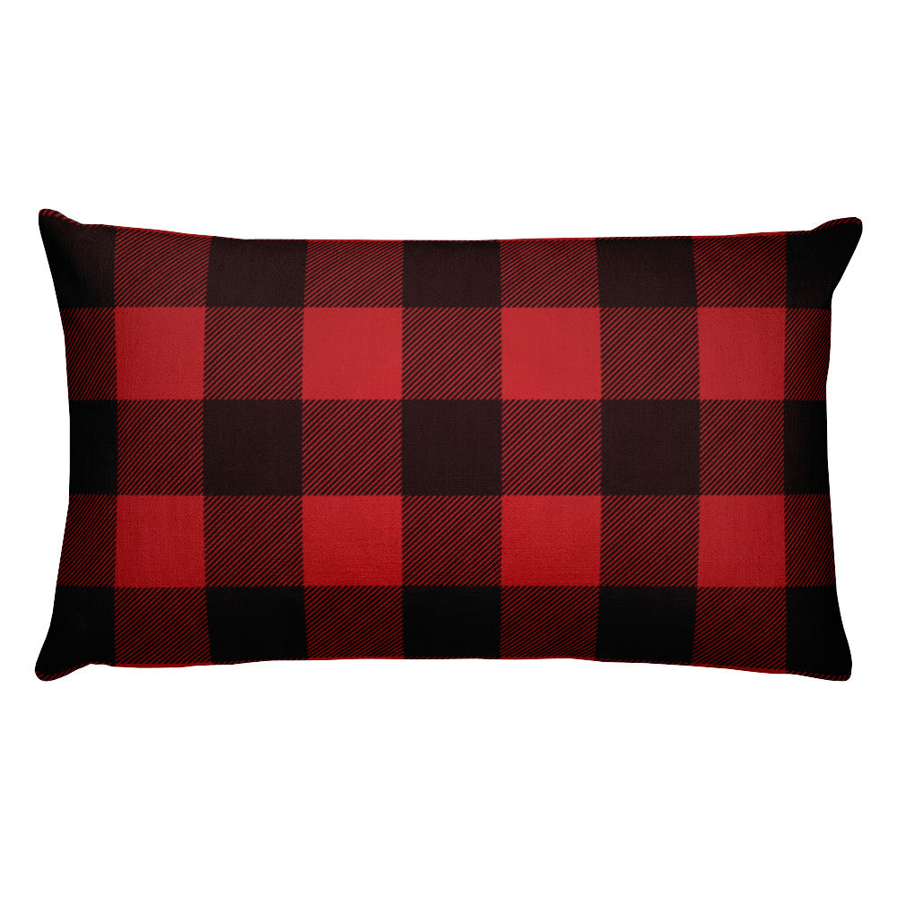 Lumberjack Holiday Premium Pillow
