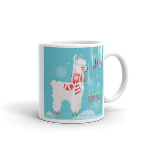 Cool Blue Llama Mug - Joy Holiday Fashion