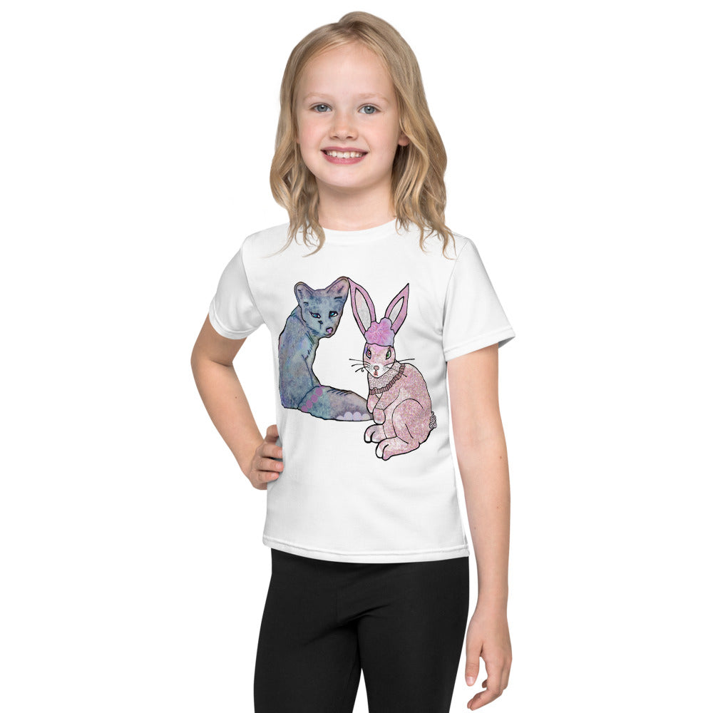 Bunny and Fox Kids T-Shirt
