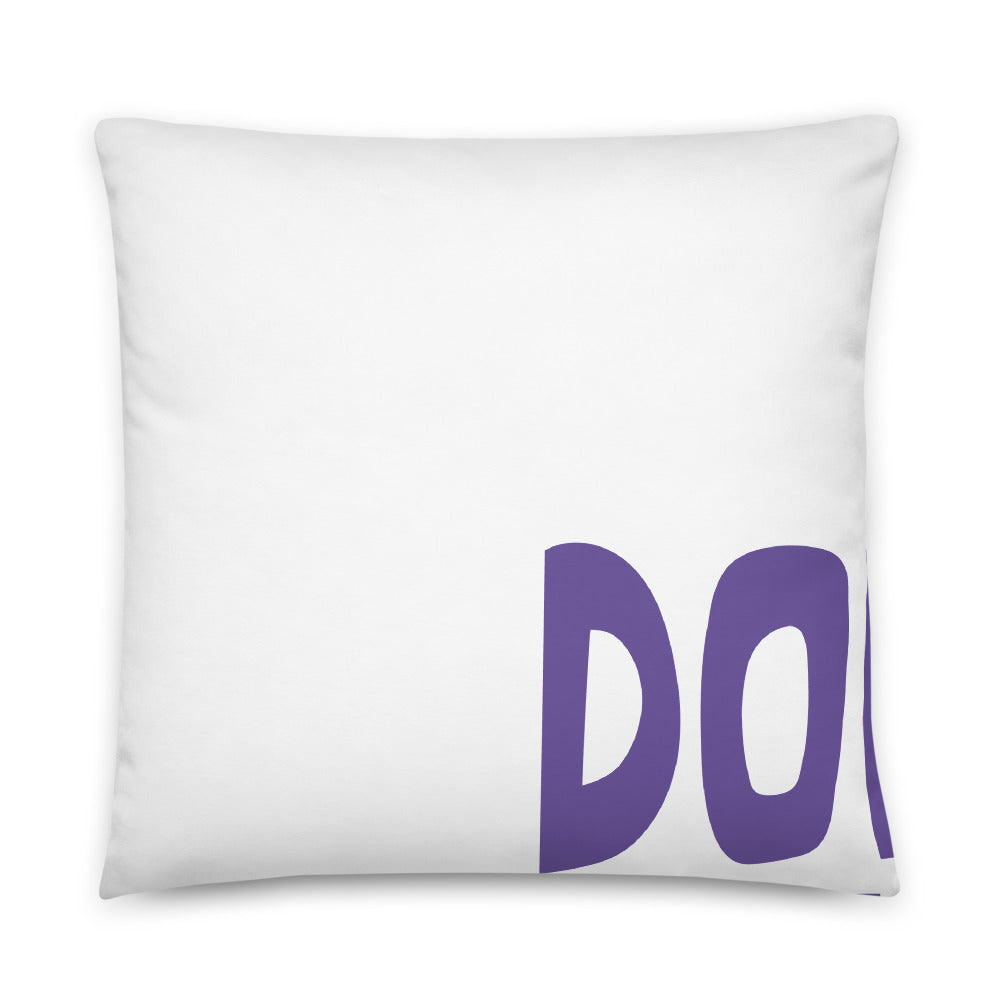Father's Day Advice Basic Pillow