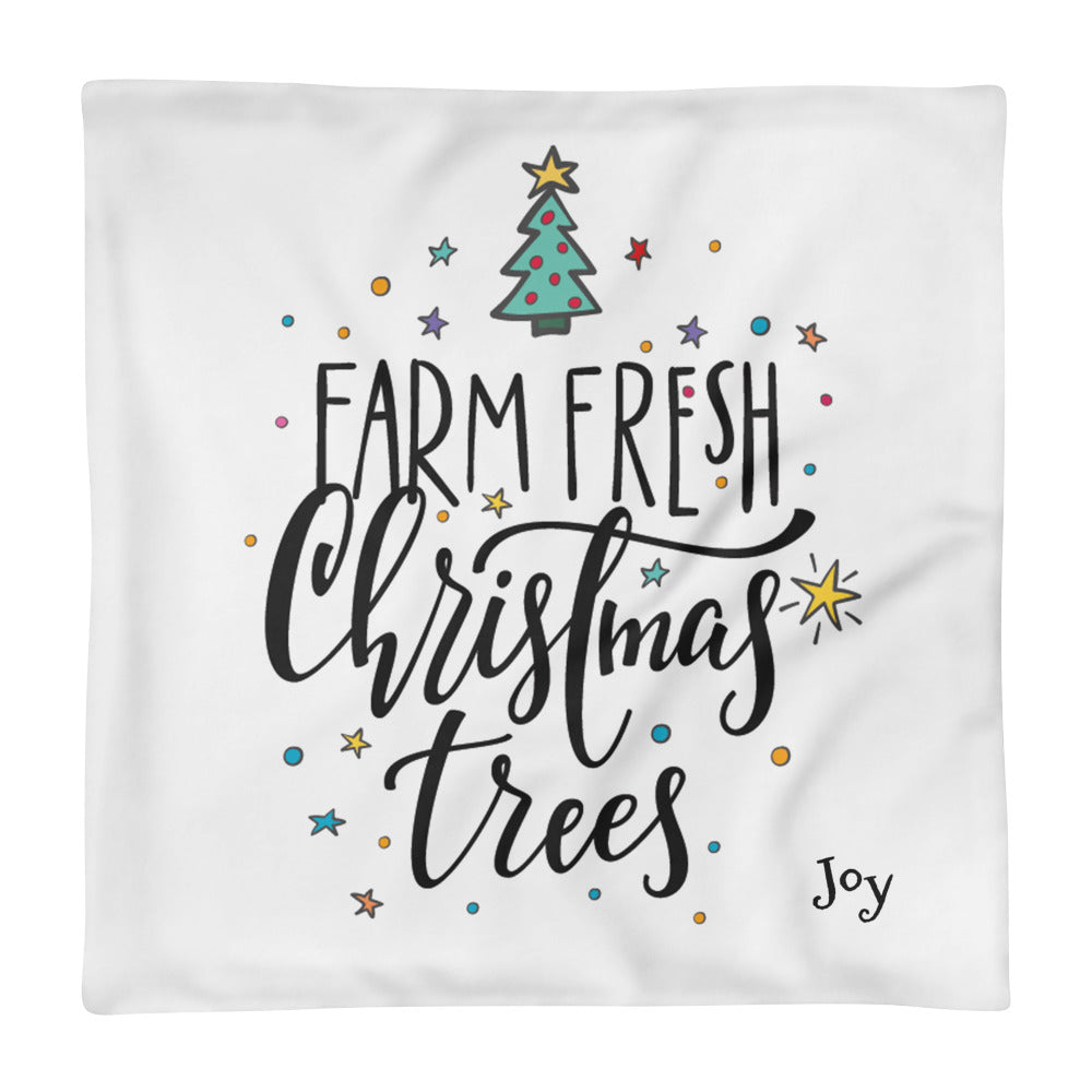 Farm Fresh Basic Pillow Case