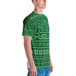 It's About To Get Ugly Men's T-shirt - Joy Holiday Fashion