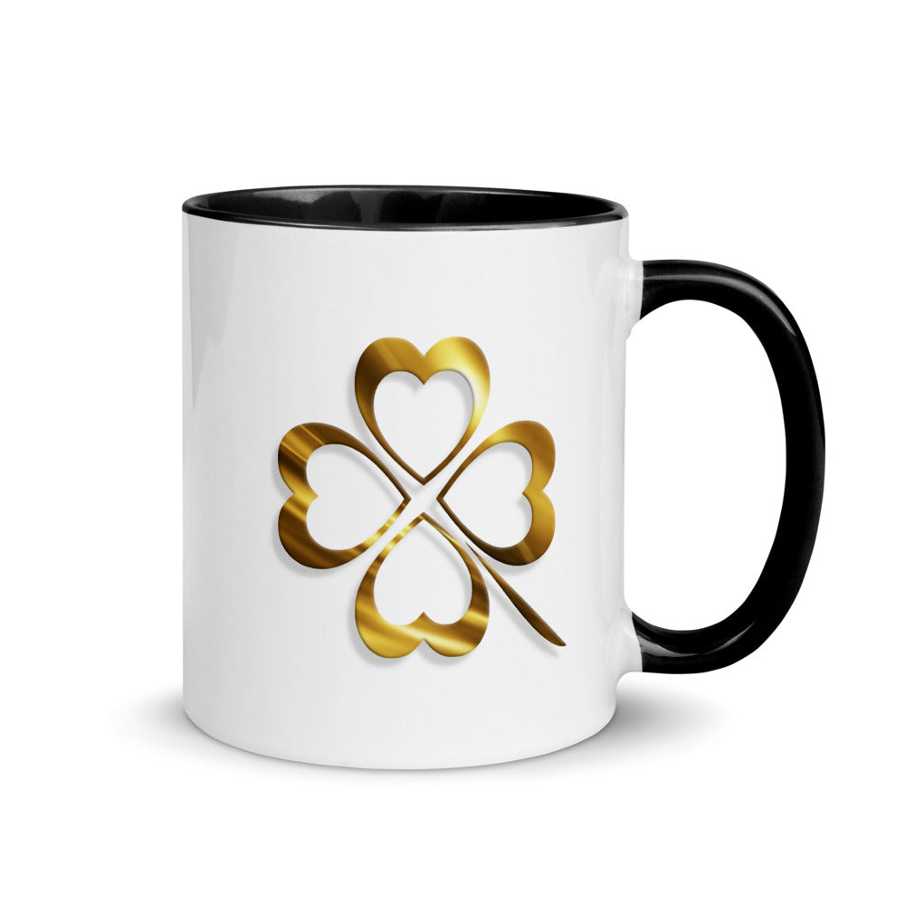Clover Mug with Color Inside