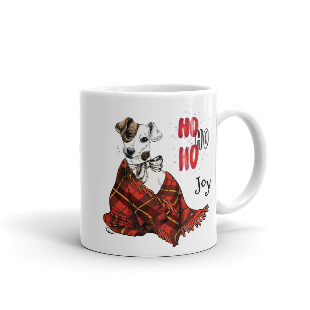 Puppy Plaid Mug - Joy Holiday Fashion