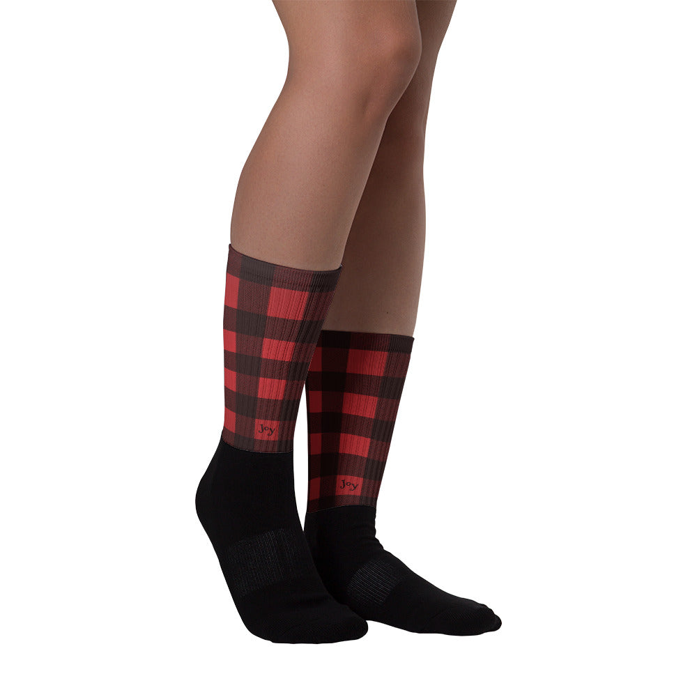 Plaid Lumberjack Socks - Joy Holiday Fashion