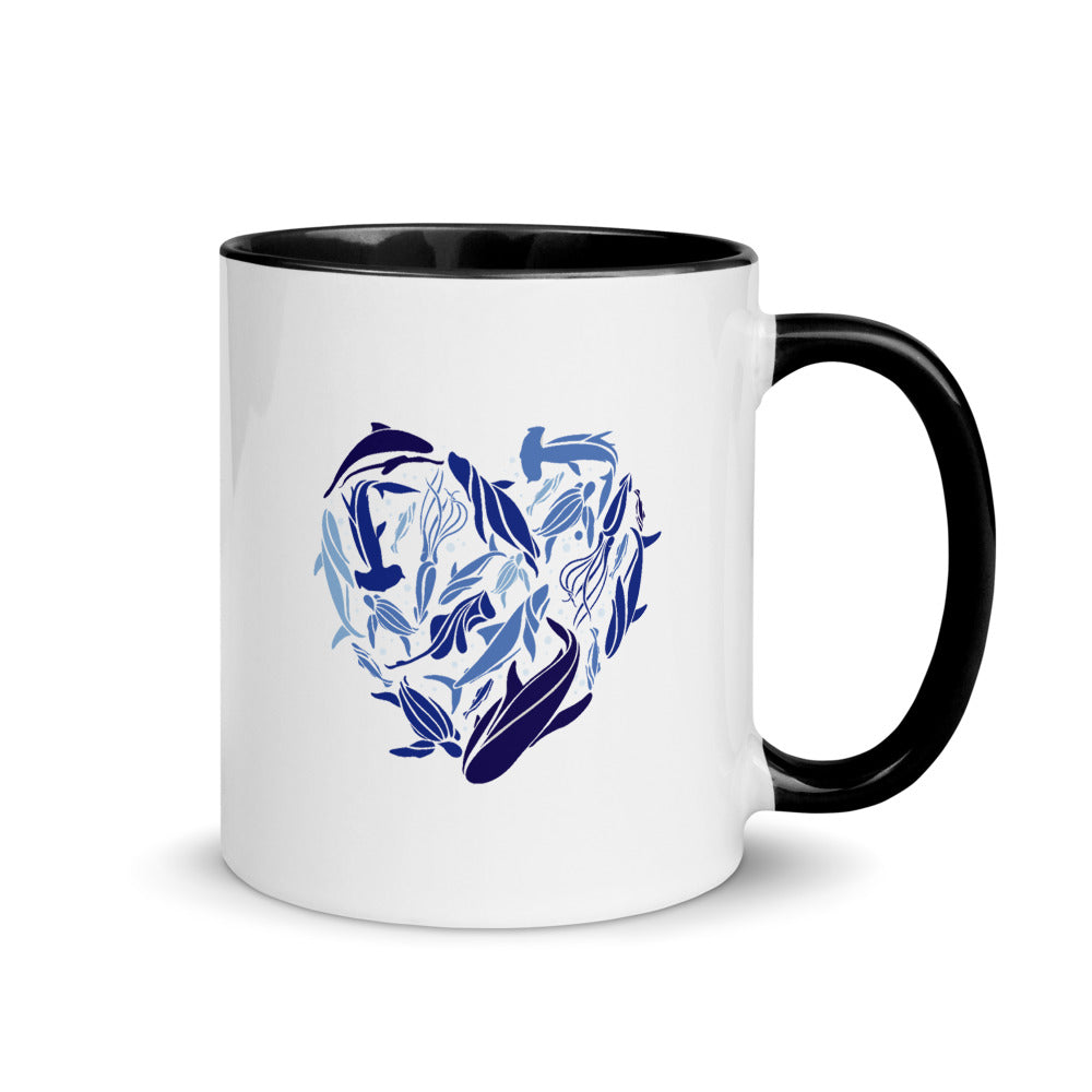 Ocean Love Mug with Color Inside