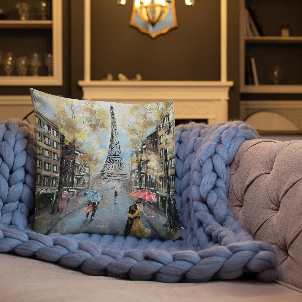 Paris Romance Premium Pillow