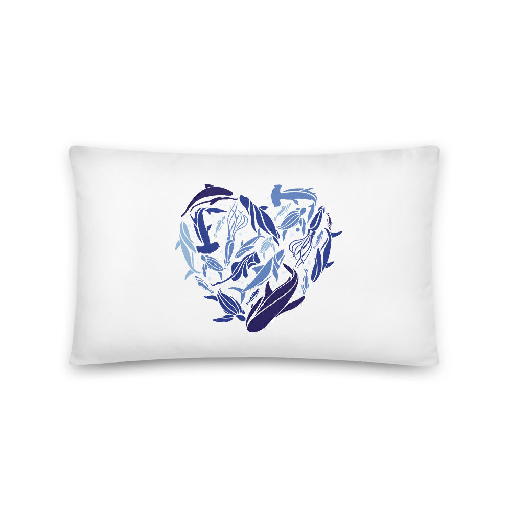 Ocean Love Basic Pillow