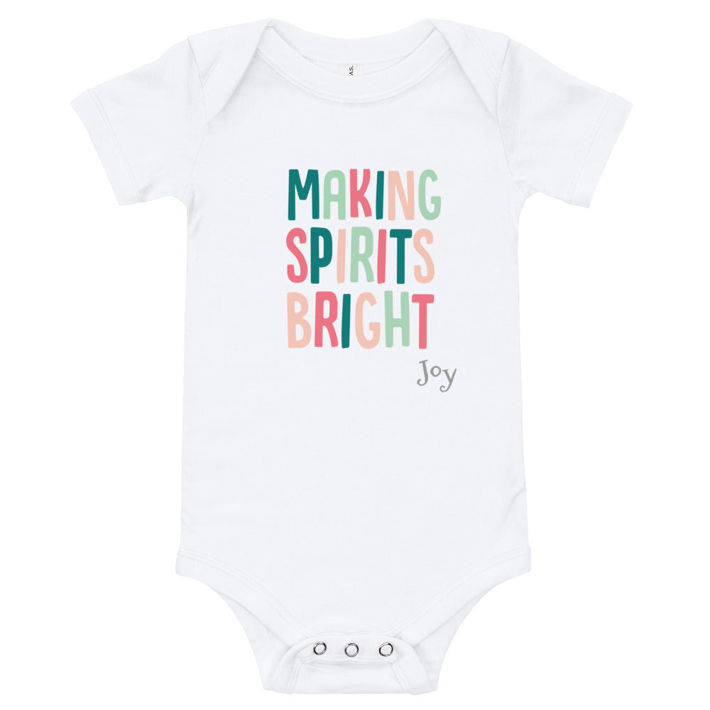 Making Spirits Bright Bodysuit