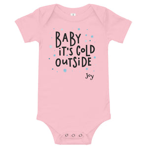 Baby It's Cold Outside Infant Bodysuit - Joy Holiday Fashion