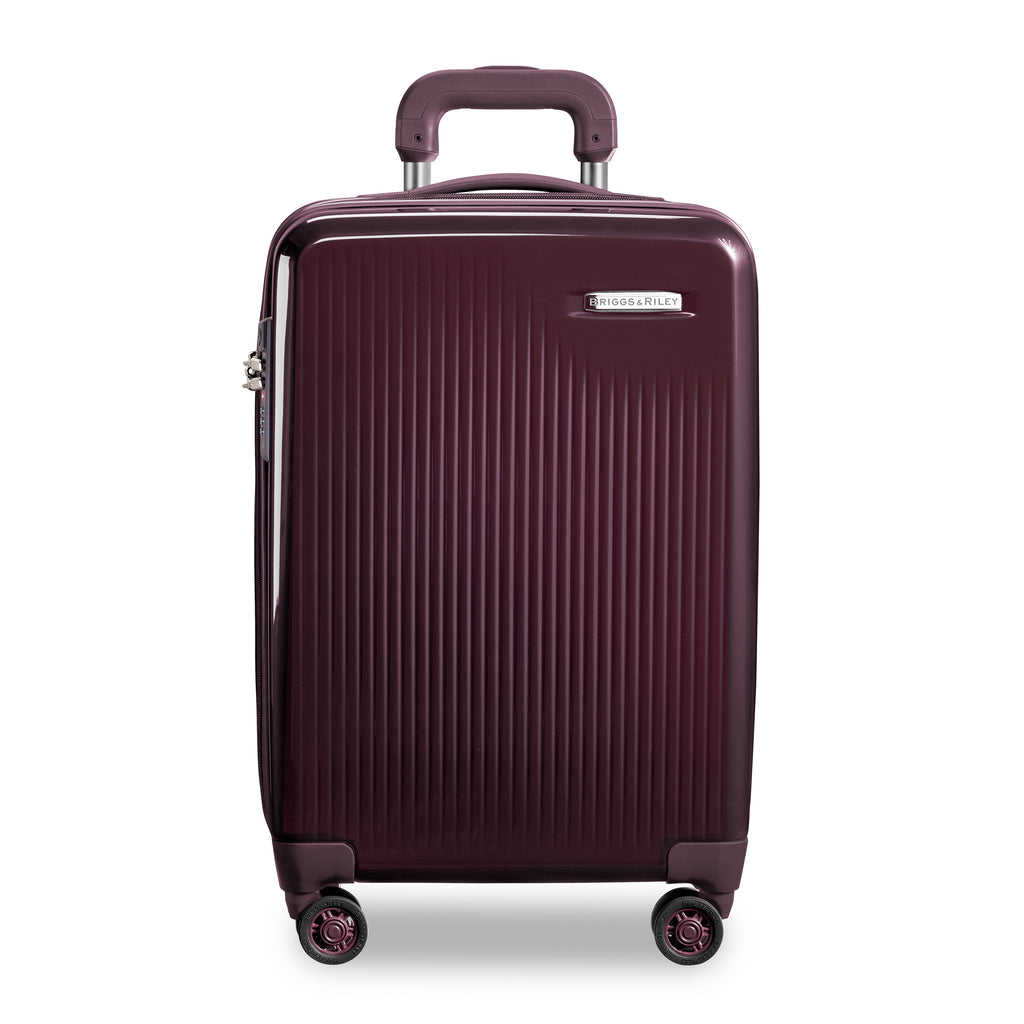 INTERNATIONAL CARRY-ON EXPANDABLE SPINNER-SYMPATICO PLUM