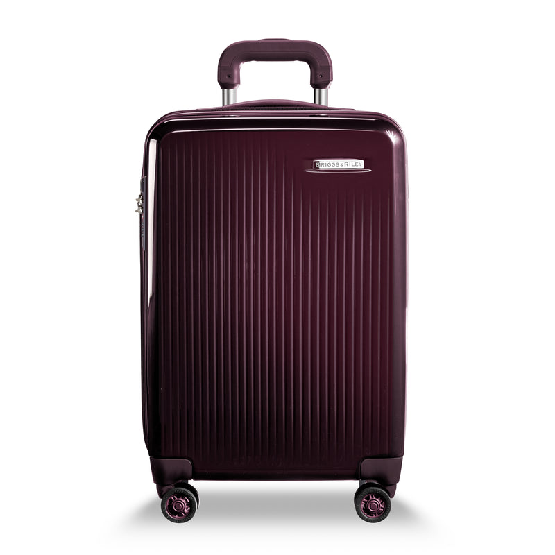 DOMESTIC CARRY-ON EXPANDABLE SPINNER-SYMPATICO PLUM