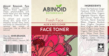 Load image into Gallery viewer, Abinoid Botanicals Face Toner Label