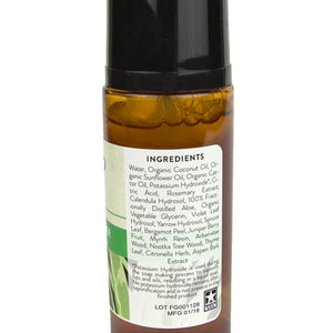 Abinoid Botanicals Face Cleanser, 2oz Label