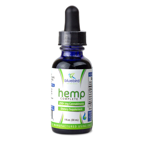 Bluebird Botanicals Complete Hemp Oil Drops