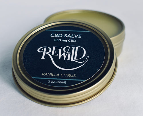 ReWild CBD Salve, 2 oz, 250mg CBD