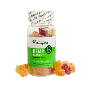Tasty Hemp Oil Gummies 40 Count