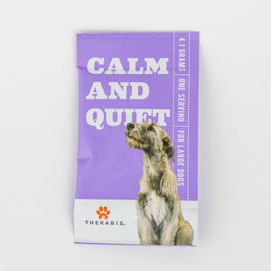Therabis Hemp Oil for Dogs - Calm and Quiet Cover