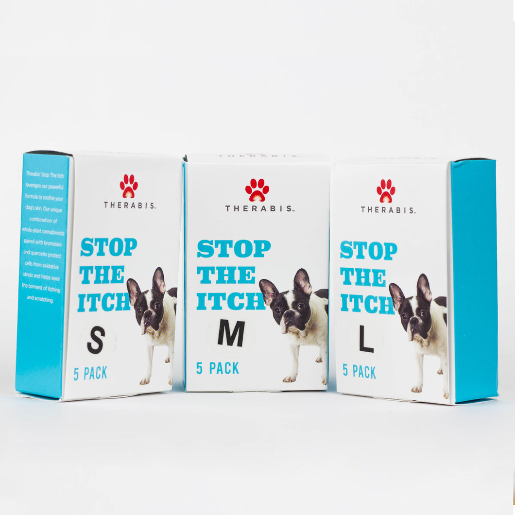 Therabis Hemp Oil for Dogs - Stop the Itch